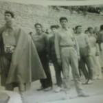 سال1341- مربیان کشتی دبیرستان-ناصر خان و آقای میرصانعی