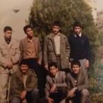 ایستاده: آقایان  شهید حیدری، میرخسروی، توکلی، حبیبی. نشسته: آقایان توکلی، محمدخانی، رمضانی.