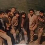 ازچپ: آقایان مقیمی، توکلی، ایران پور، شهید تائبی، دبیر محترم صبوحی، نوروزی، توکلی و میرخسروی.