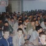 جشن دهه فجر سال 1365، نمازخانه دبیرستان