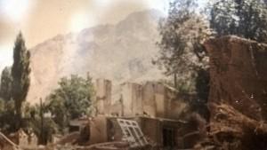 خوانسار بعد از سیل مرداد66:  محله شهرک (شیرک)- عکس از آقای سید جلال جعفری