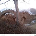 تصویر1 از مطلب بازار بالای خوانسار: کاروانسرای تخریب شده